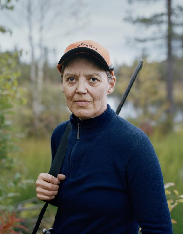 """""""Eva, Rabnaträsket, 2016"""" From the series Predators (2018)"""