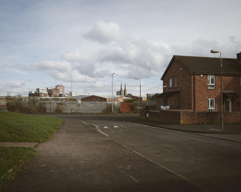 Ashmore St, Protestant Shankill area, Belfast