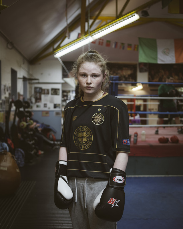 Tigernach, Immaculata Boxing Club, Irish Republican Divis area, West Belfast