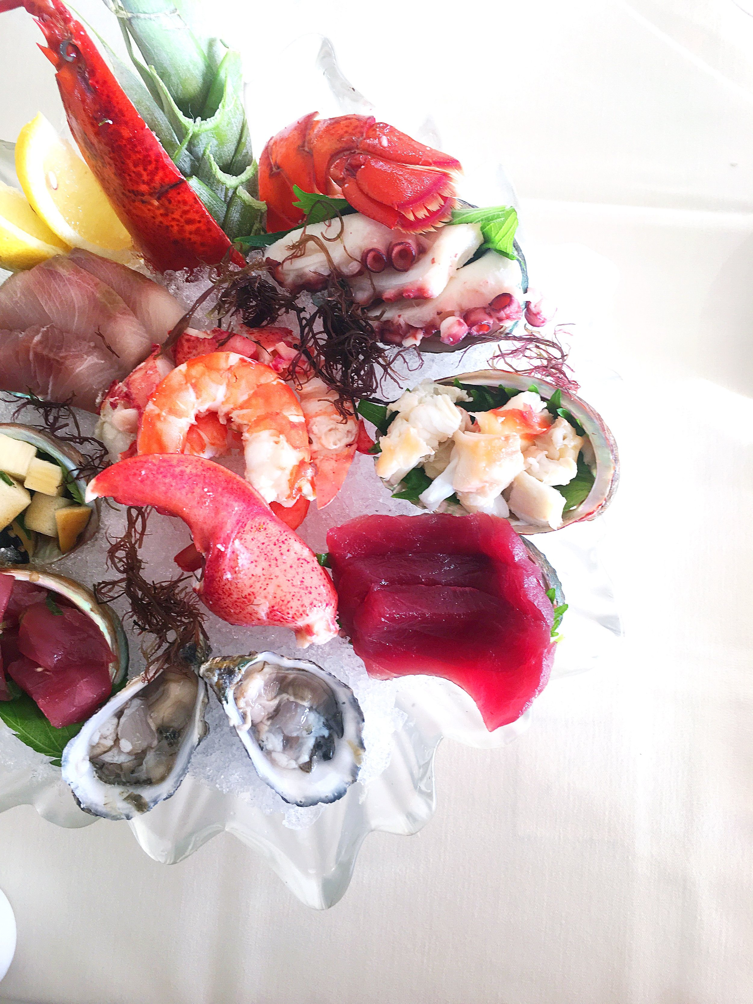 Michel's seafood platter