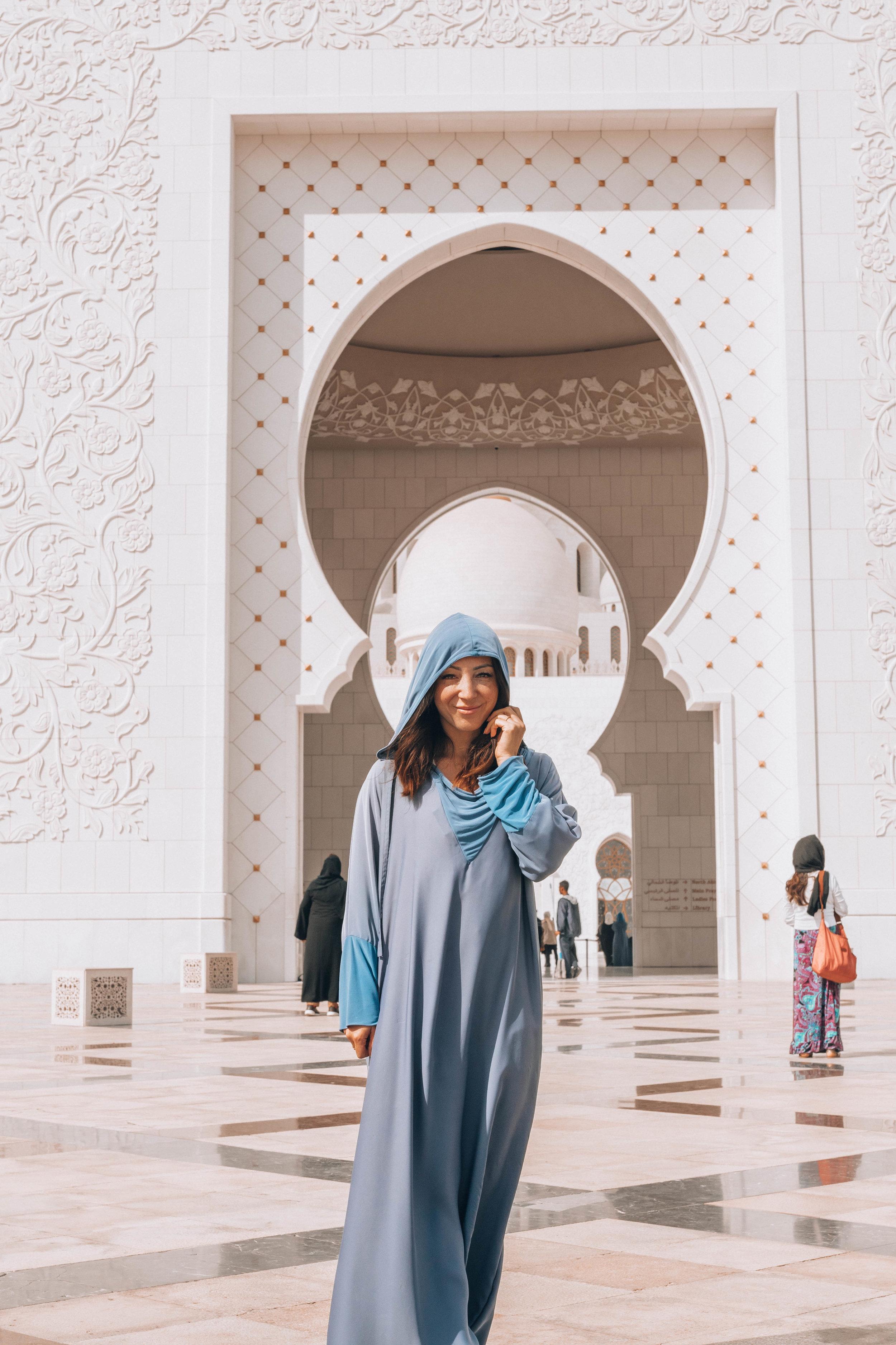 Sheikh Zayed Mosse in Abu Dhabi