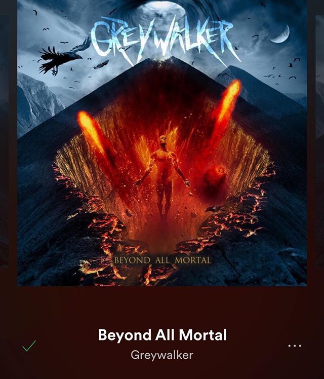 Morning metal from Pittsburgh's finest. @greywalker_pgh 🤘🏻🤘🏻 #greywalker #metal #pittsburgh #nowplaying