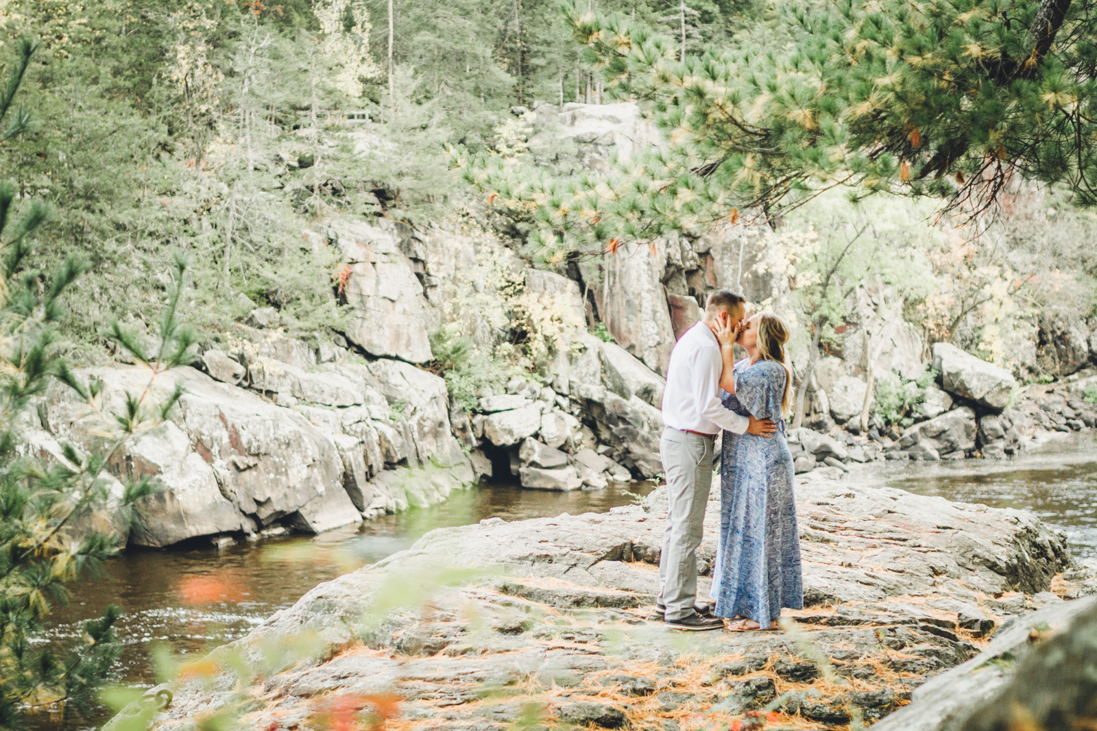Morning Light Photography: Amanda & Nick's Taylor's Falls Engagement