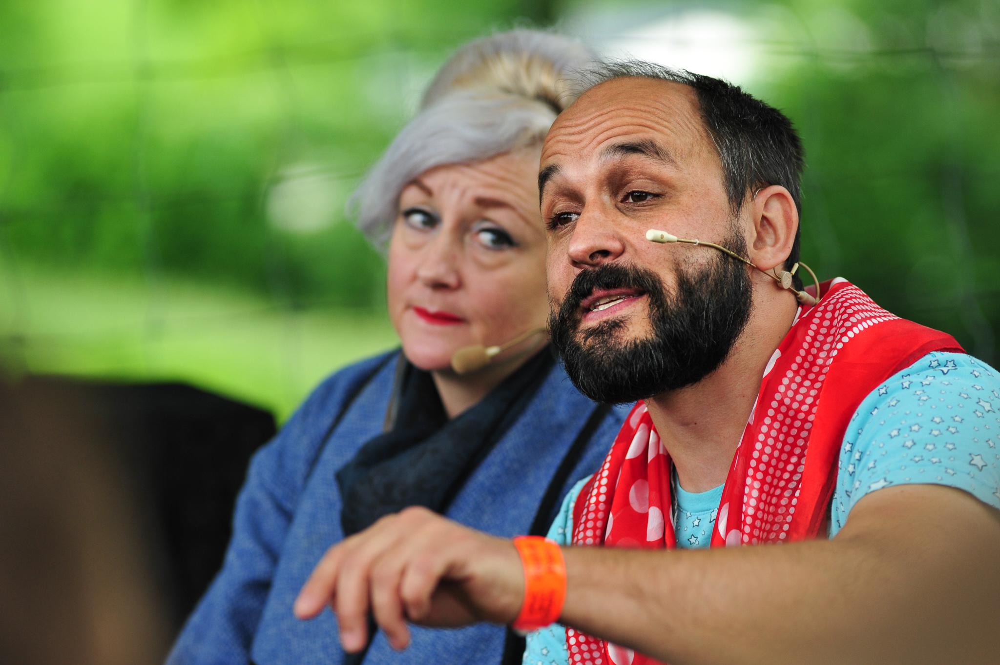 Klapperlapapp: Minitheater Hanniball mit Andrea Fischer Schulthe