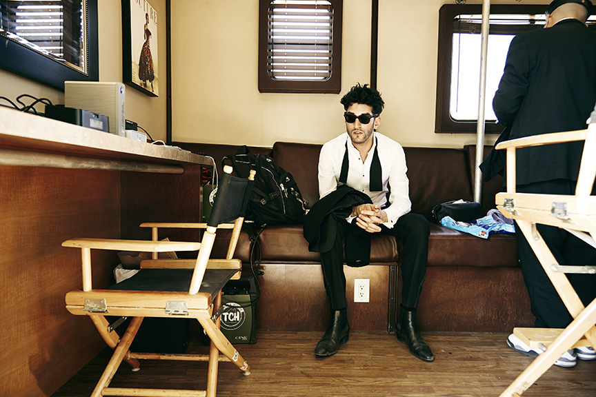 Dave 1 of Chromeo / Mojave Desert.