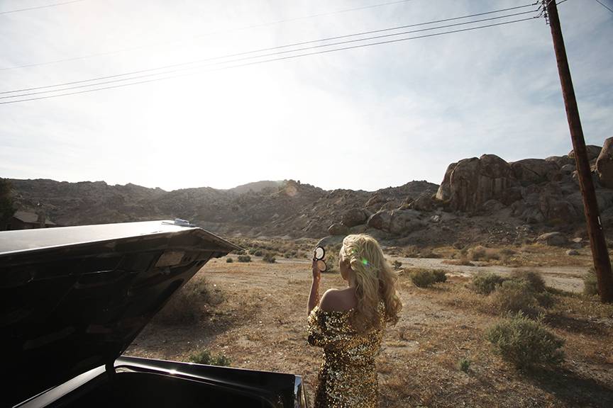 Serrina of Sweethead / Mojave Desert, California.
