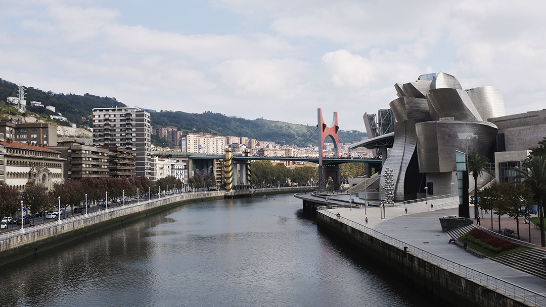Bilbao, Spain / October 01 2015. You have my attention, you beautiful place, you.