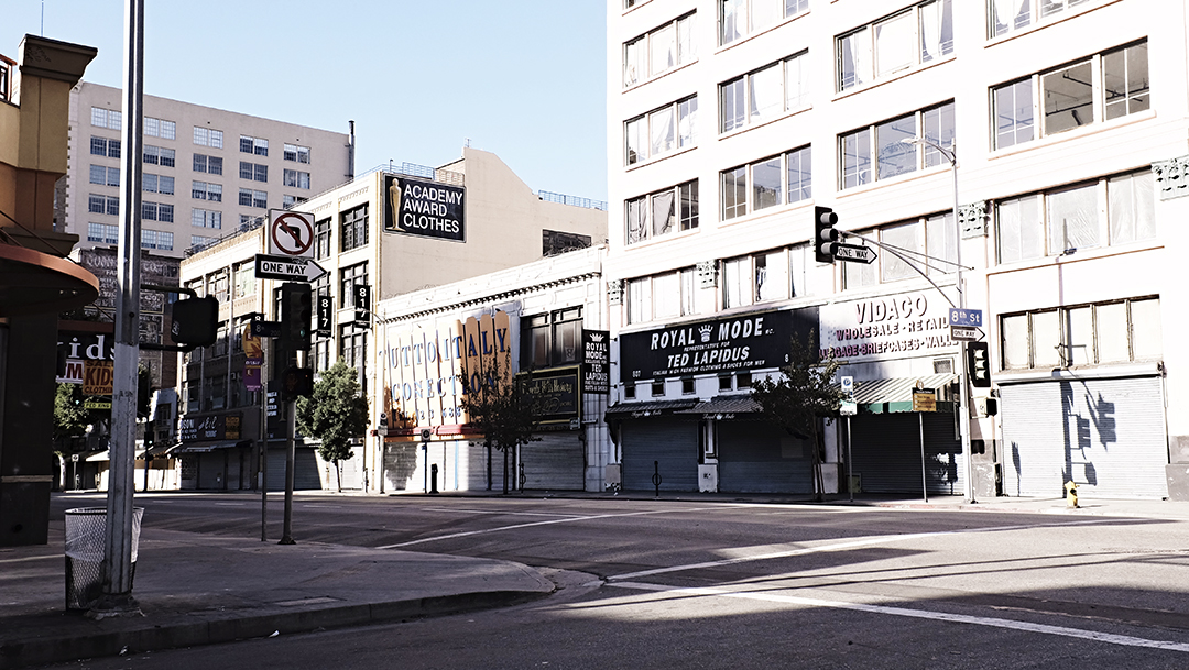 Downtown Los Angeles / December 25 2014