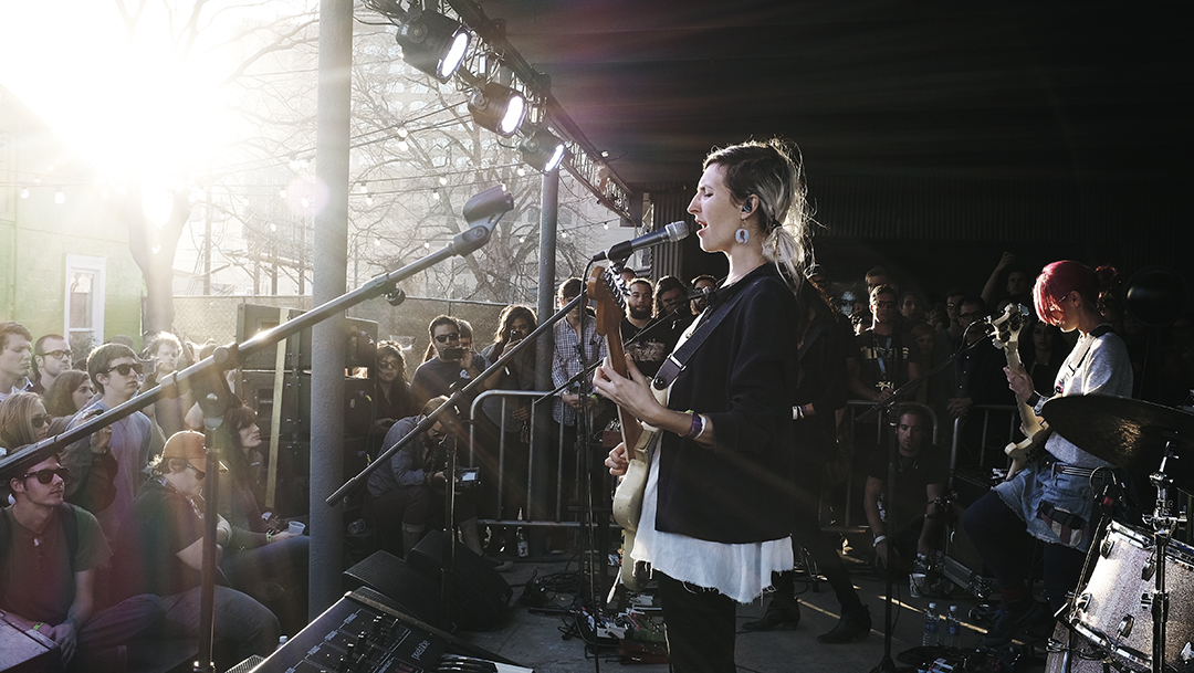 Warpaint / SXSW at Spotify Party / March 14