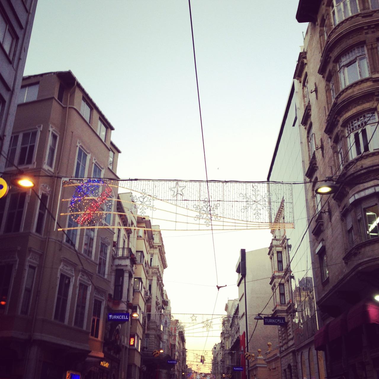 Istanbul on no hours of sleep.