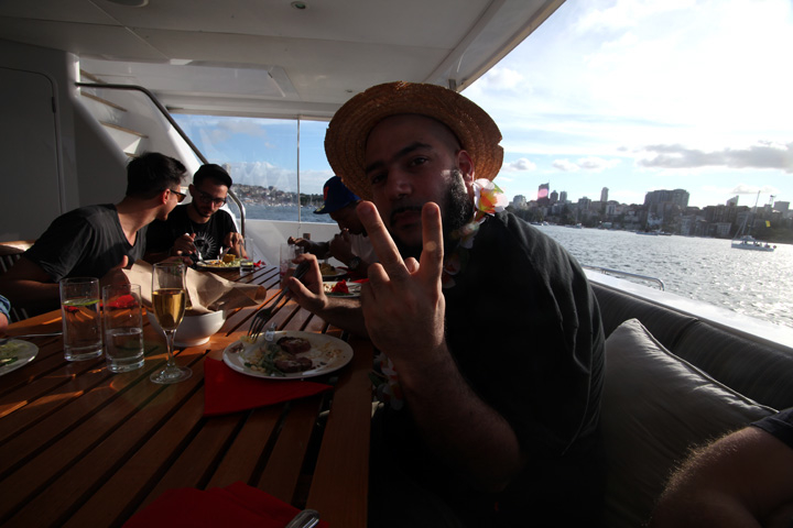 P Thugg / January 062011 / Sydney
