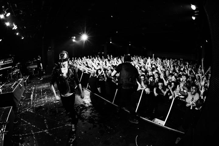 The Bloody Beetroots / Vancouver / November 06 2010 – end of tour…..