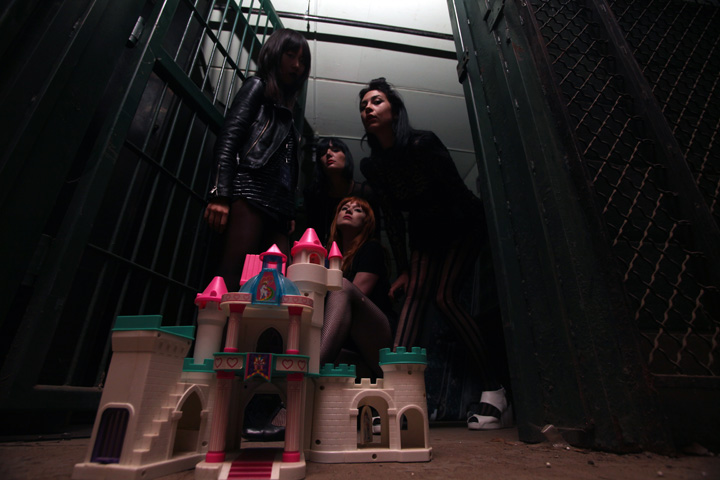 September 10 2010 / Rochester – with a dollhouse we found in one of the JAIL CELLS…shot in pitch black..