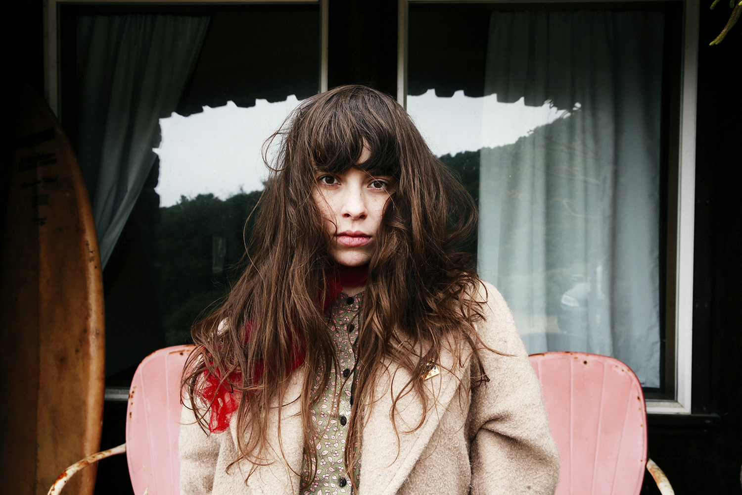 Teri (Le Butcherettes) / August 14 2017 / Northern California.