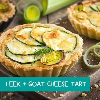 Leek & Goat Cheese Tart