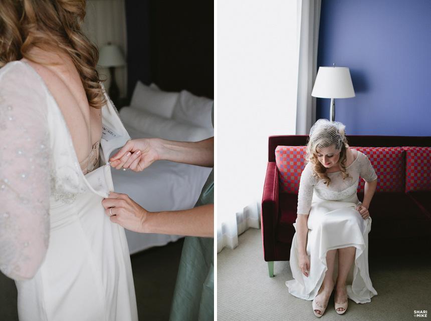 Opus Hotel, Getting Ready Wedding Photography