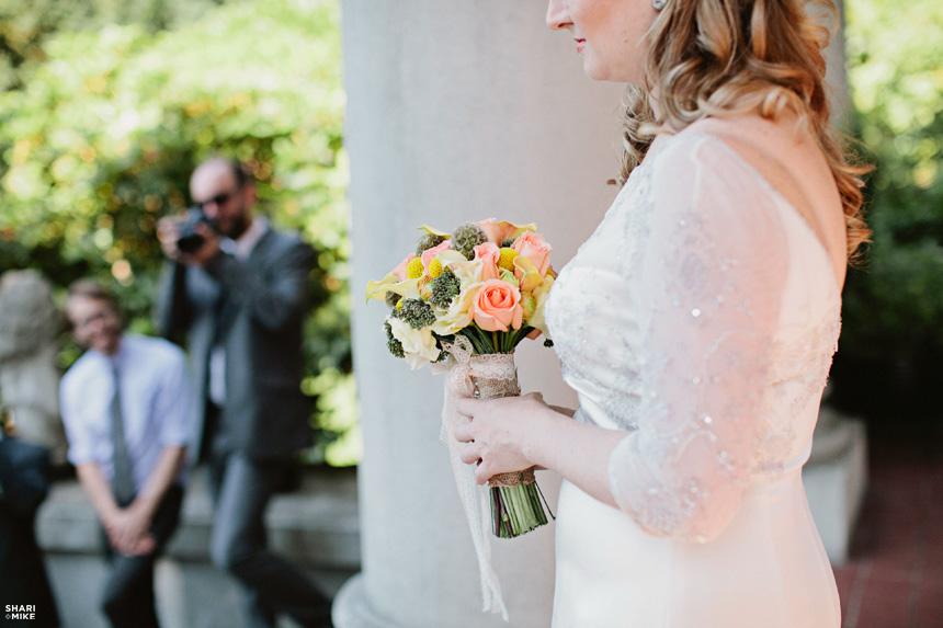 Vancouver Vintage Wedding Ceremony