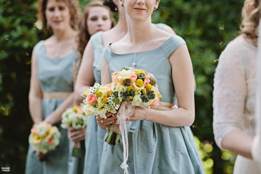 Vancouver Vintage Wedding Flowers 5424