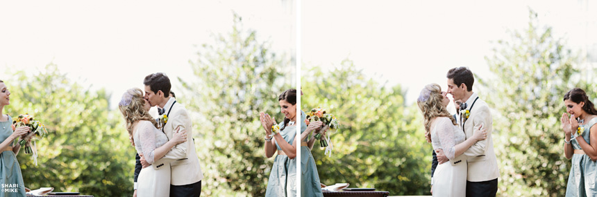 Vancouver Outdoor Wedding Ceremony Photography