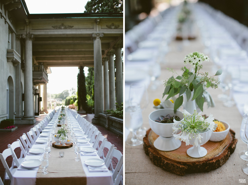 Vancouver Outdoor Wedding Reception 5571