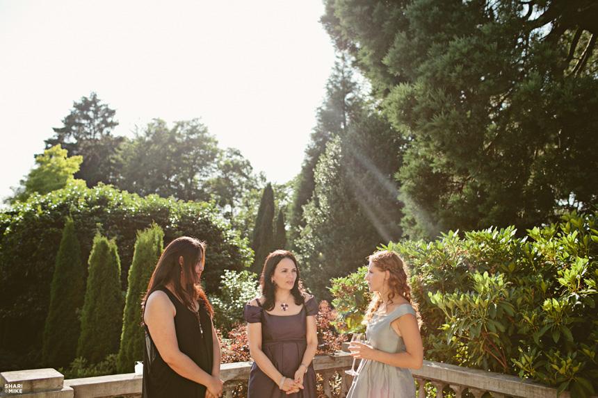 Vancouver Hycroft Manor Outdoor Wedding 5630