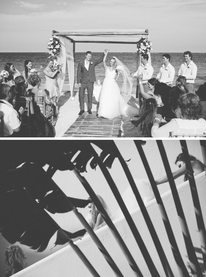 Azul Beach Resort Wedding Photography