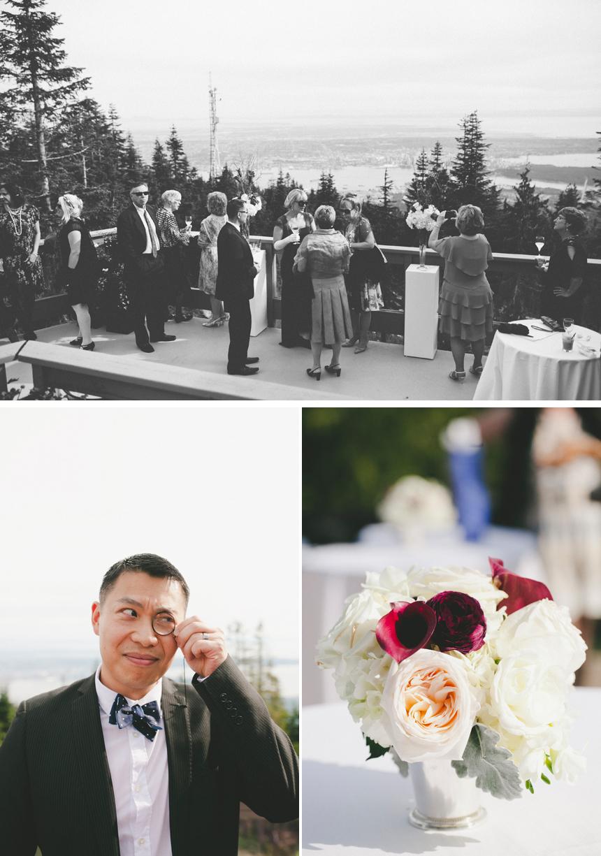 Vancouver Grouse Mountain Wedding