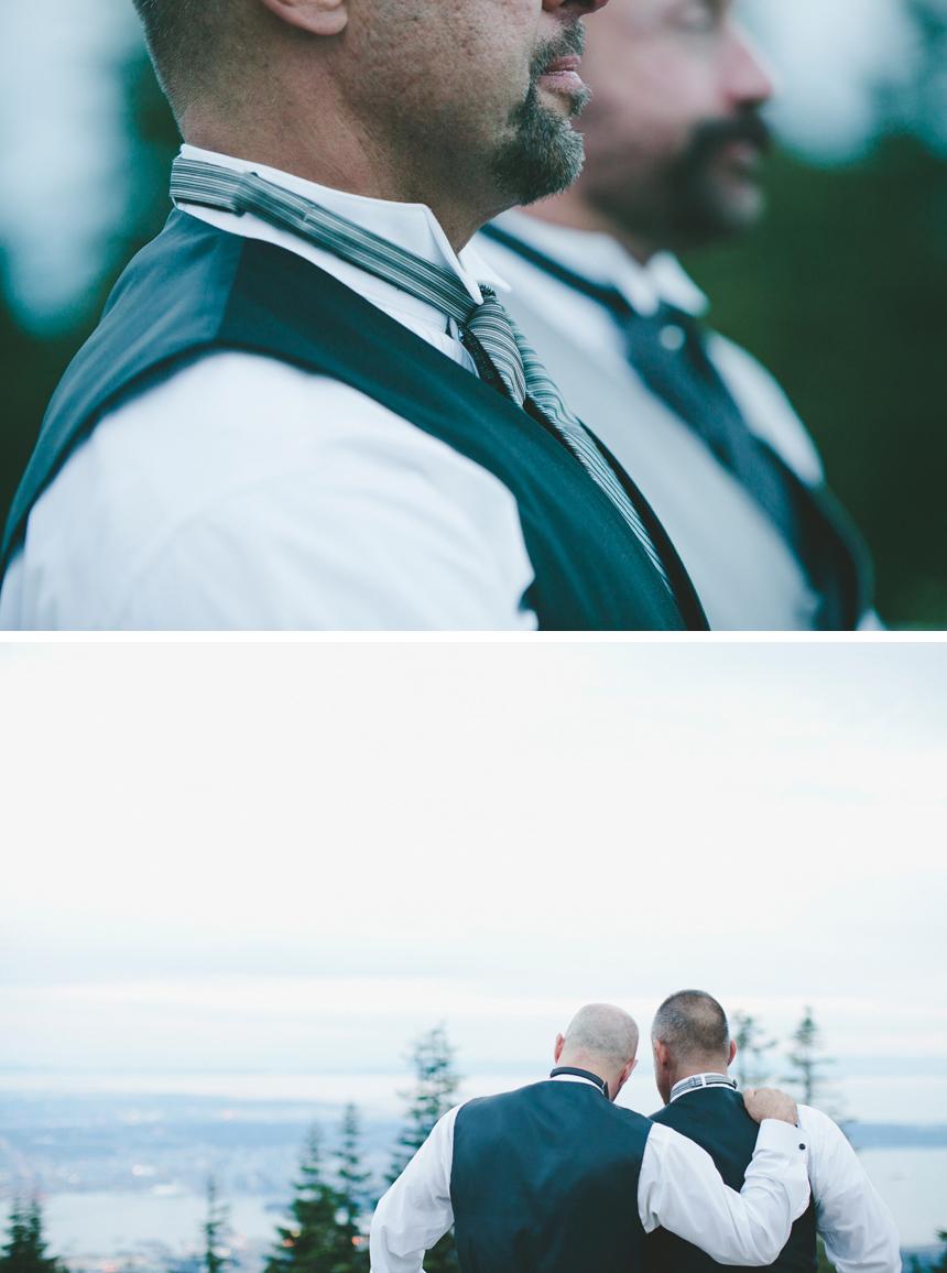 Vancouver Grouse Mountain Destination Wedding Photographers