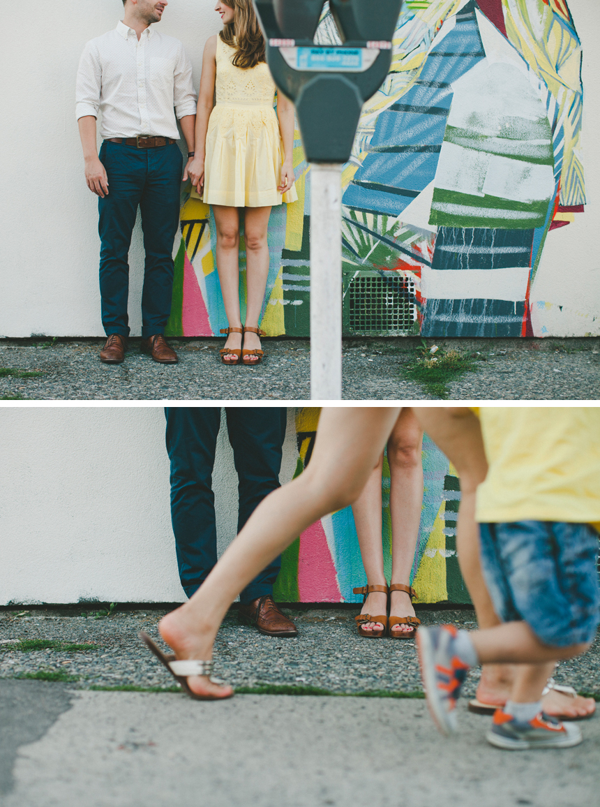 Vancouver Main Street Engagement Photography