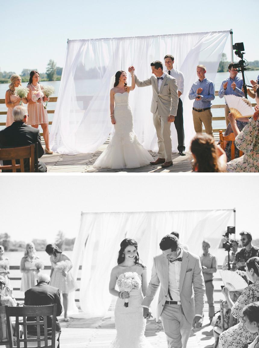 Vancouver Dock Wedding