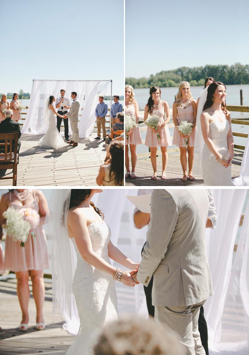 Vancouver Outdoor Wedding Ceremony