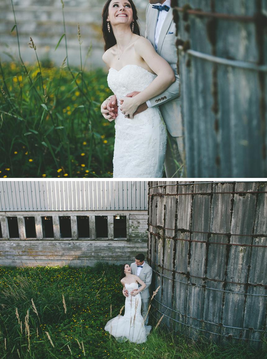 Vancouver Farm Wedding Portraits