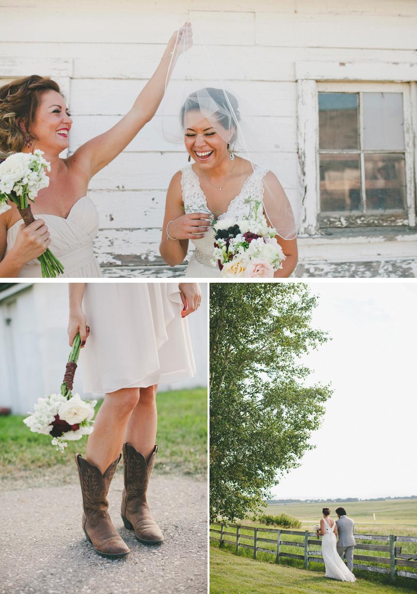Alberta Western Wedding Photography