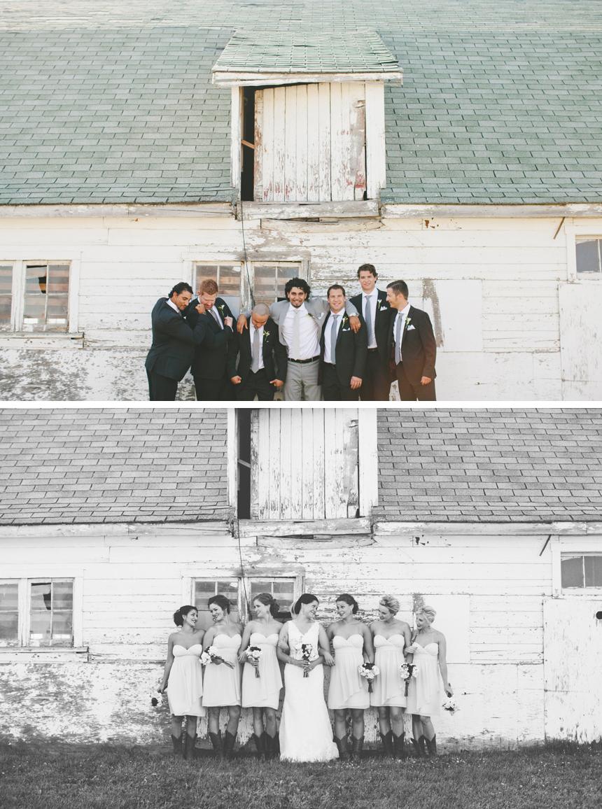 Alberta DIY Farm Wedding