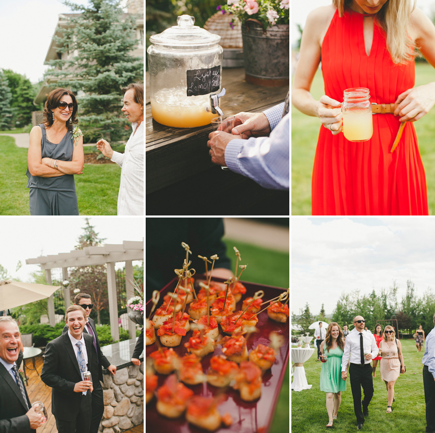 Rustic Calgary Outdoor Wedding