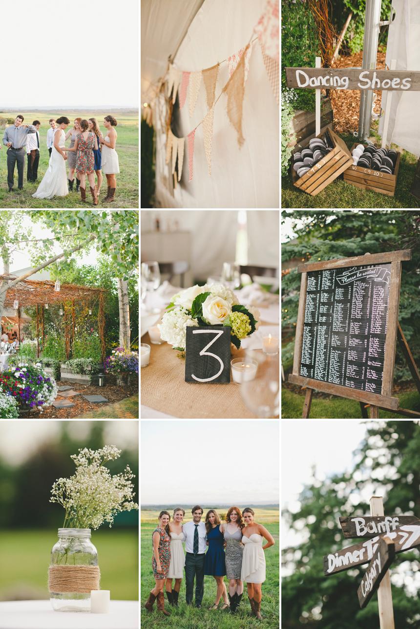 Alberta Backyard DIY Wedding