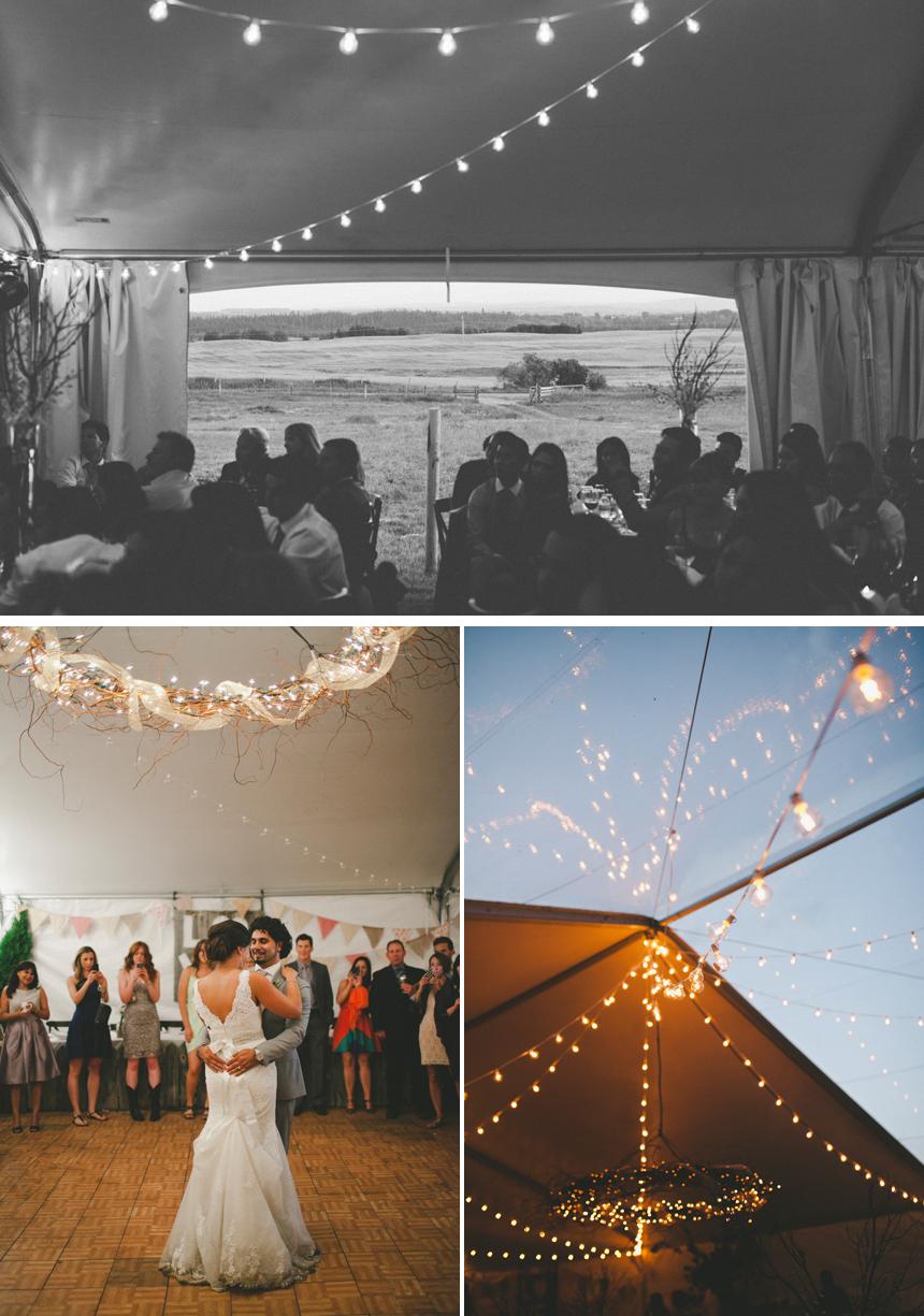 Calgary Outdoor Acreage Wedding Photography