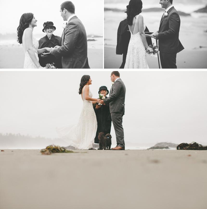 Wickaninnish Inn Beach Wedding Photography