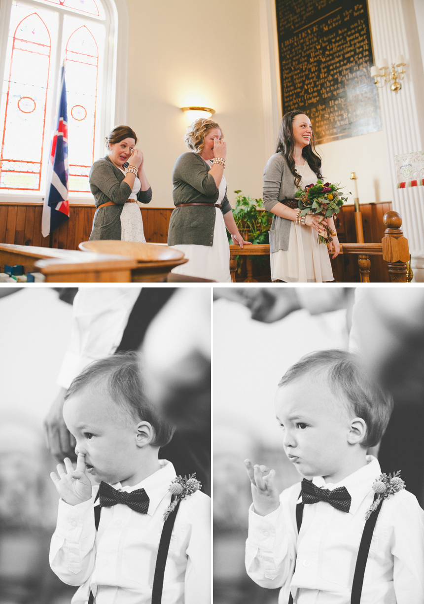 Maritimes Wedding Ceremony Photography