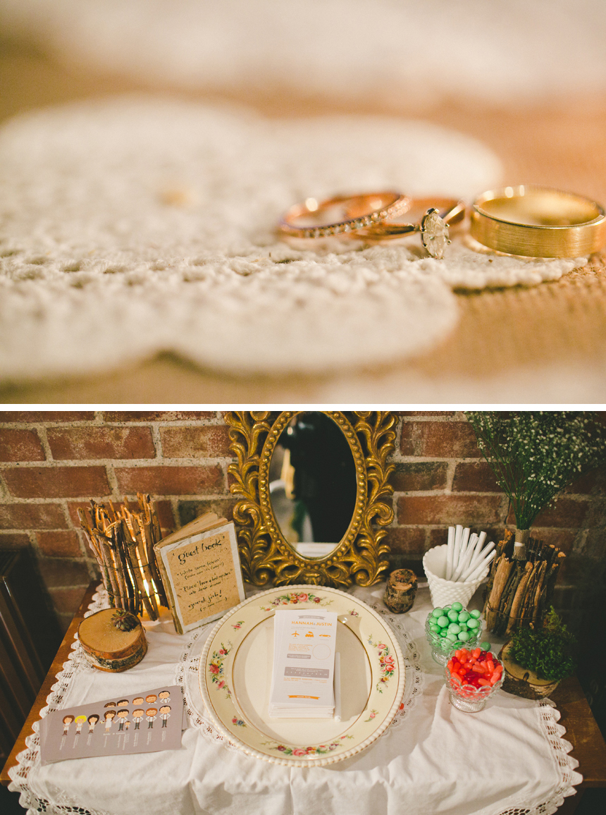 Saint John Vintage Wedding