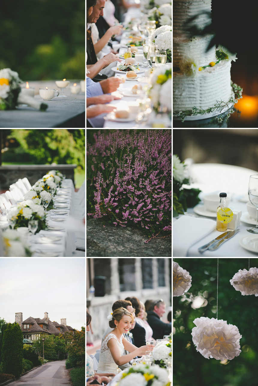VAncouver Scottish Wedding details