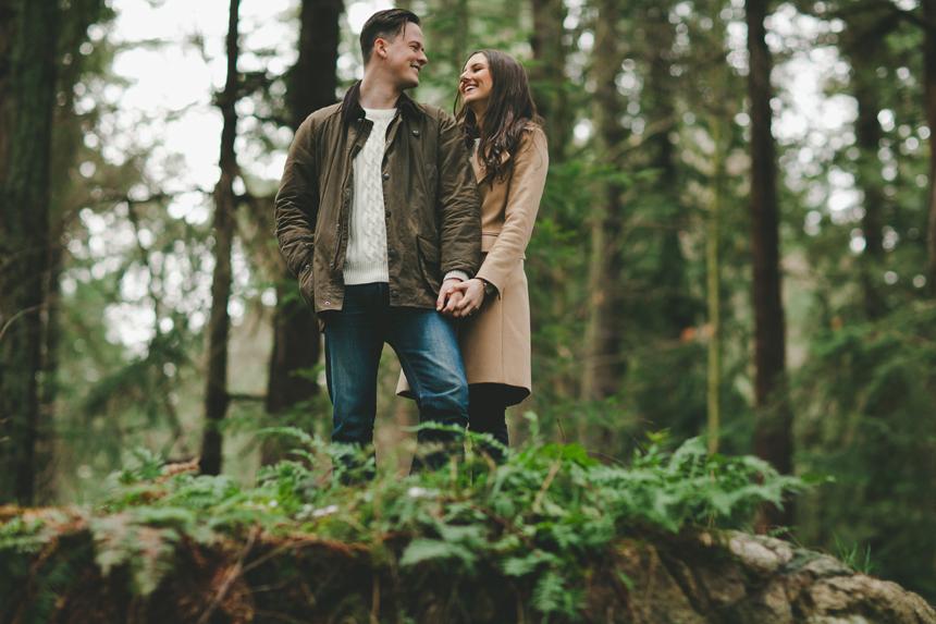 West Coast Engagement Photography
