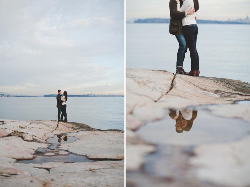 Lighthouse Park Engagement Photography