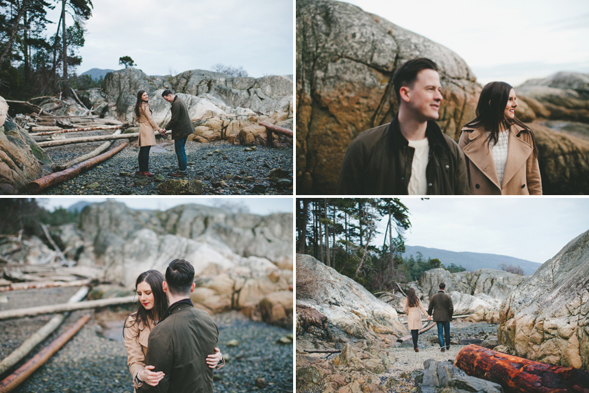 Pacific Northwest Engagement Photography