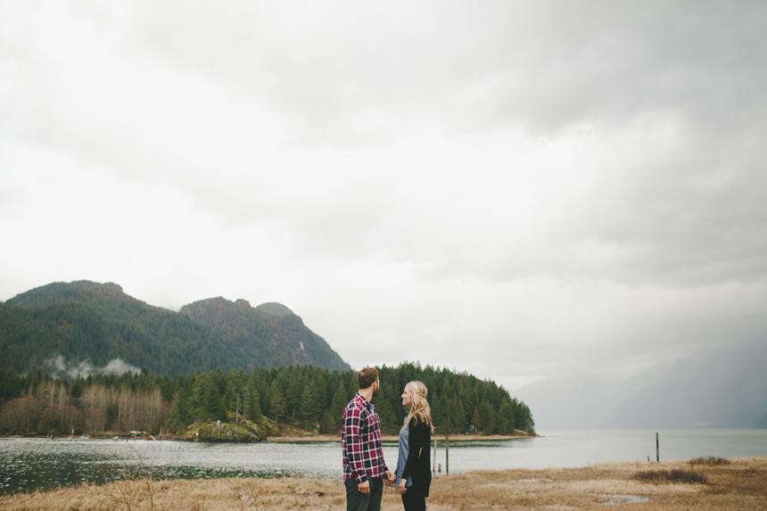 Pitt Lake Engagement Photography