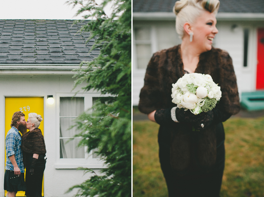 East Van Wedding Portraits
