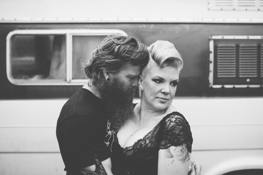 RockNRoll Bride Wedding Portraits