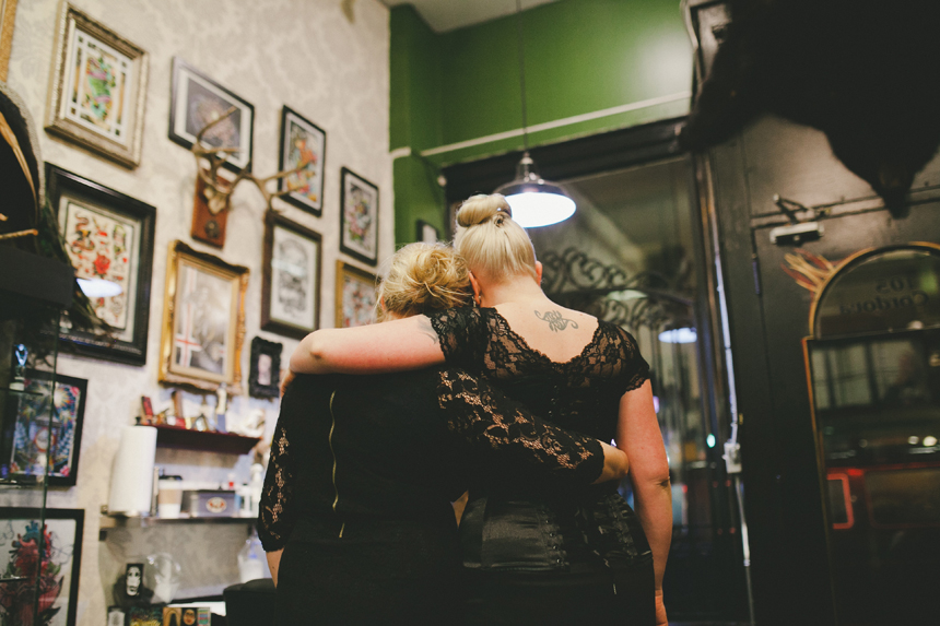 Vancouver Tattoo Shop Wedding