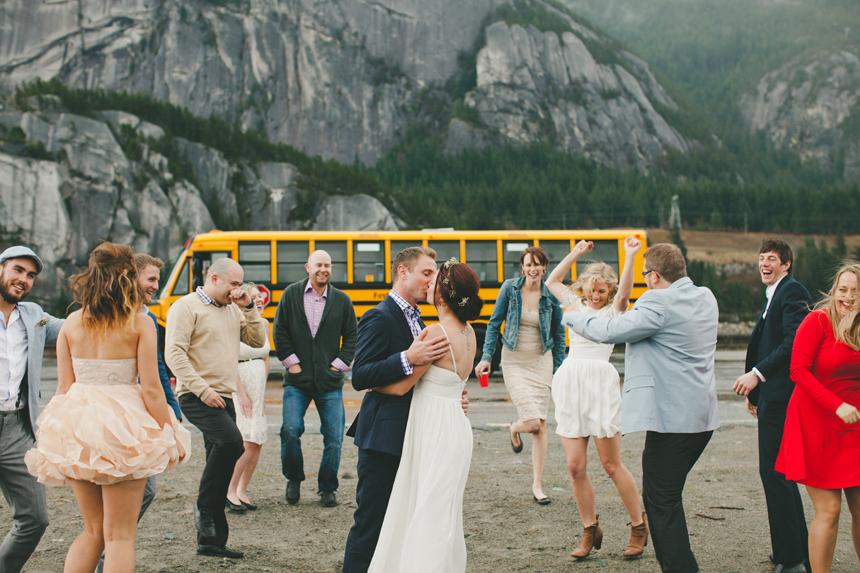 Squamish Brewery Destination Wedding Photography