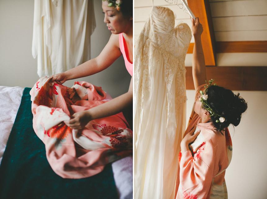 Yellowknife Bride Getting Ready